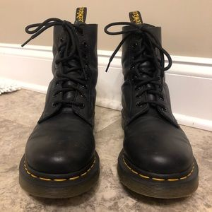Black Dr. Martens in good condition.